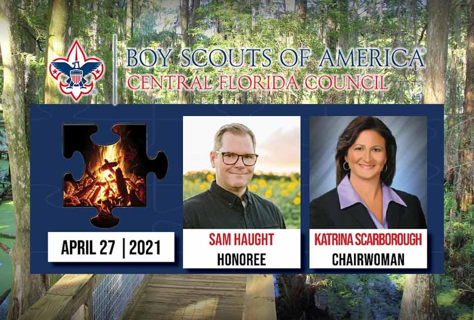 Central Florida Council, Boy Scouts of America to honor Wild Florida's Sam Haught at annual dinner