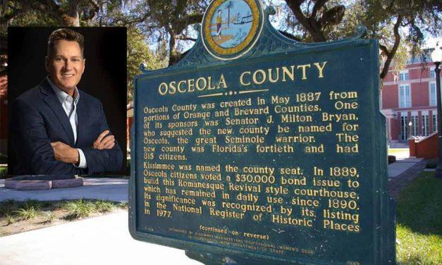 Chairman Brandon Arrington delivers Osceola's first 2021 COVID-19 media briefing
