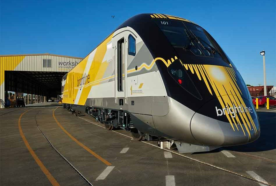 Disney Springs Brightline Station, the vision of greater transportation solutions in Florida draws nearer
