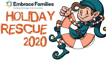 It's Holiday Rescue 2020 from Embrace Families