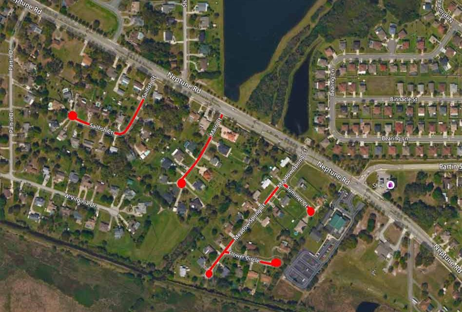 Osceola County announces upcoming Neptune Road area road resurfacing schedules in December
