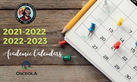 Osceola County School Board approves 2021-2022 , 2022-2023 academic calendars