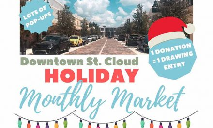 Celebrate the season at St. Cloud's Holiday Monthly Market, Wednesday, December 16