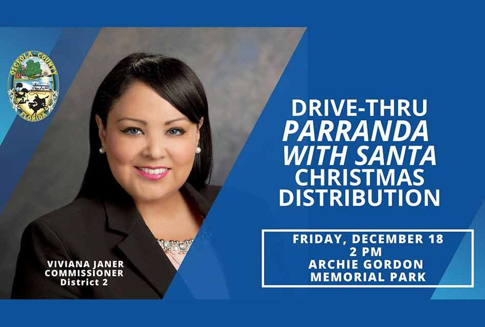 Osceola County's Vice-chair Viviana Janer to host drive-thru Parranda with Santa today