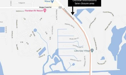 Outside southbound lane closure on Narcoossee Road rescheduled for January 21