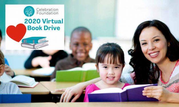 Help a Child Open a Book, Celebration Foundation's Virtual Book Drive