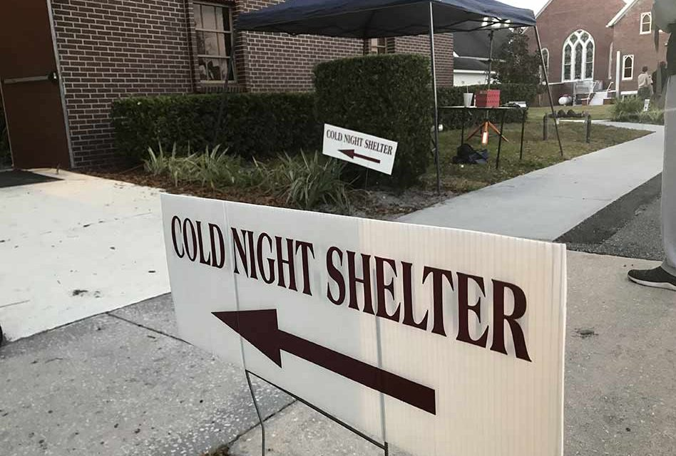 Another cold night ahead, cold shelter in St. Cloud to open at 6pm