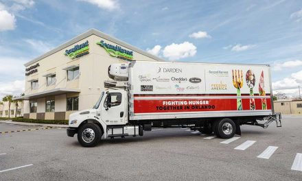 Darden Restaurants Helps Second Harvest Food Bank of Central Florida with Mobile Food Pantry