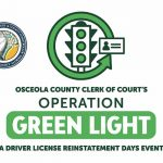 Osceola County Clerk's Office Offers Driver's License Reinstatement Event, Green Light 2021