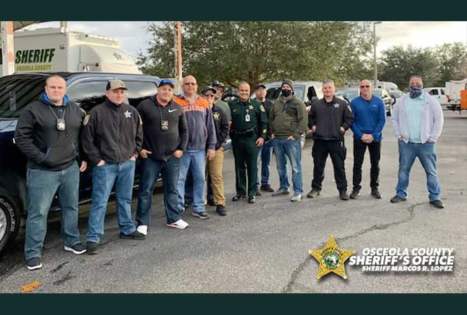 Osceola Sheriff Marcos Lopez prepares Emergency Response Team for potential unrest at Florida capitol