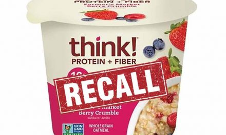 Food Recall alert: Think! issues voluntary recall on undeclared tree nuts in fiber oatmeal