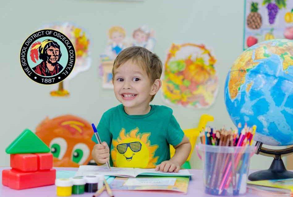 Registration For Osceola School District's Prekindergarten (VPK) Program To Open February 15, 2021