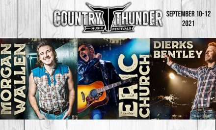 Country Thunder 2021 to feature headliners Eric Church, Morgan Wallen & Dierks Bentley September 10th-12th!