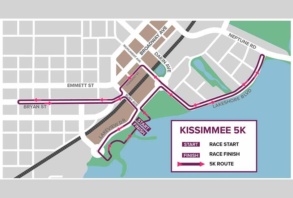 City of Kissimmee announces road closures ahead of Kissimmee Main Street 5K race on Saturday