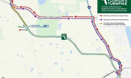 Full temporary closure of northbound and southbound lanes coming to Florida' Turnpike February 23rd