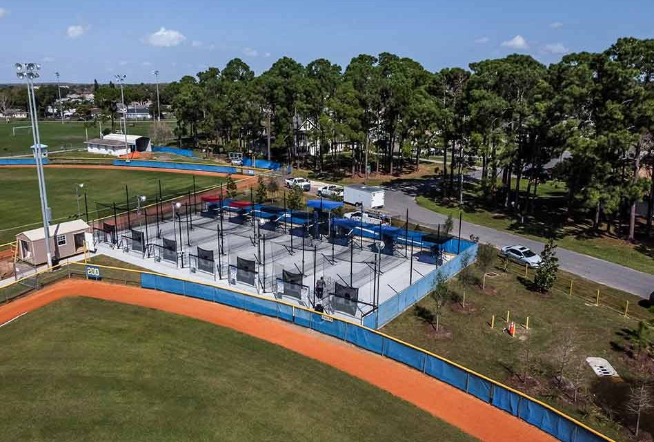 Grand Slam! New Batting Cages Open at Buenaventura Lakes Baseball Park