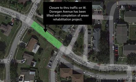 Toho Water announces West Donegan Avenue closure lifted after completion of sewer project