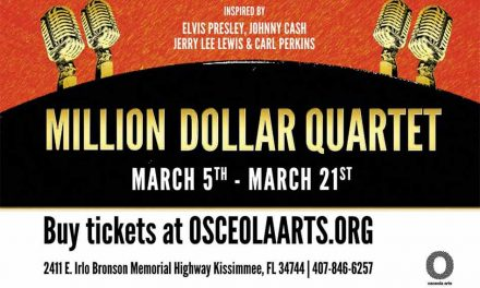 Osceola Arts to present Million Dollar Quartet beginning March 5, tickets on sale now!