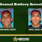 Osceola Sheriff Deputies arrest two men on Monday for sexual battery, given zero bond