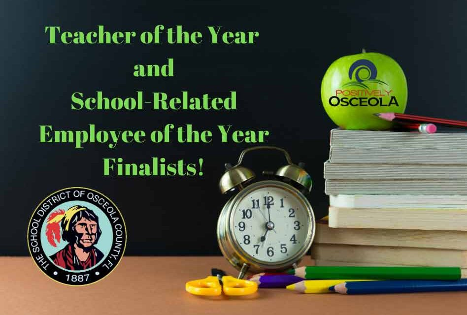 Osceola School District Names Teacher of the Year and School-Related Employee of the Year Finalists