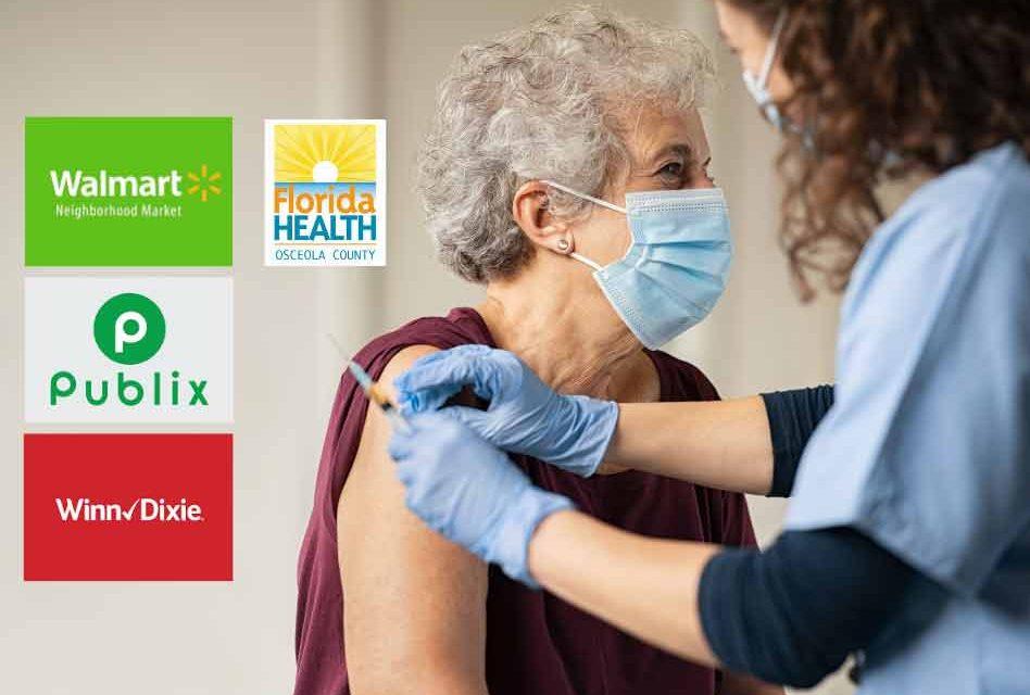 Walmart, Publix & Winn-Dixie locations to begin administering COVID-19 vaccines