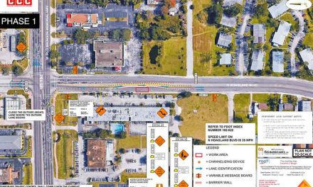 Shifting lane closures on N. Hoagland Blvd. near the US 192 intersection to begin March 3 for sewer project