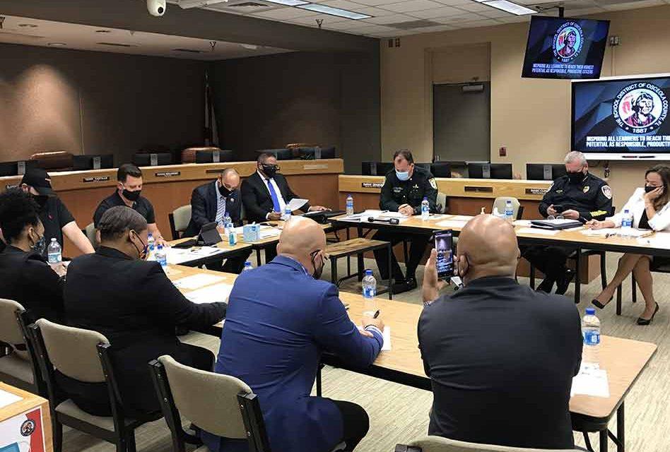 Osceola Schools SRO advisory board finalizes upcoming survey questions, discusses SRO body cams