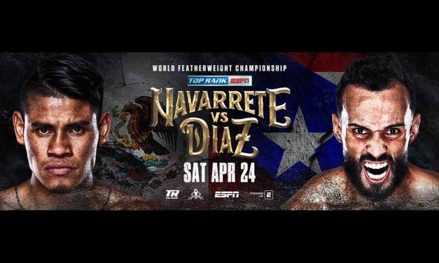 "Emanuel ""Vaquero"" Navarrete Defends Featherweight World Title Against Christopher ""Pitufo"" Diaz LIVE on ESPN"
