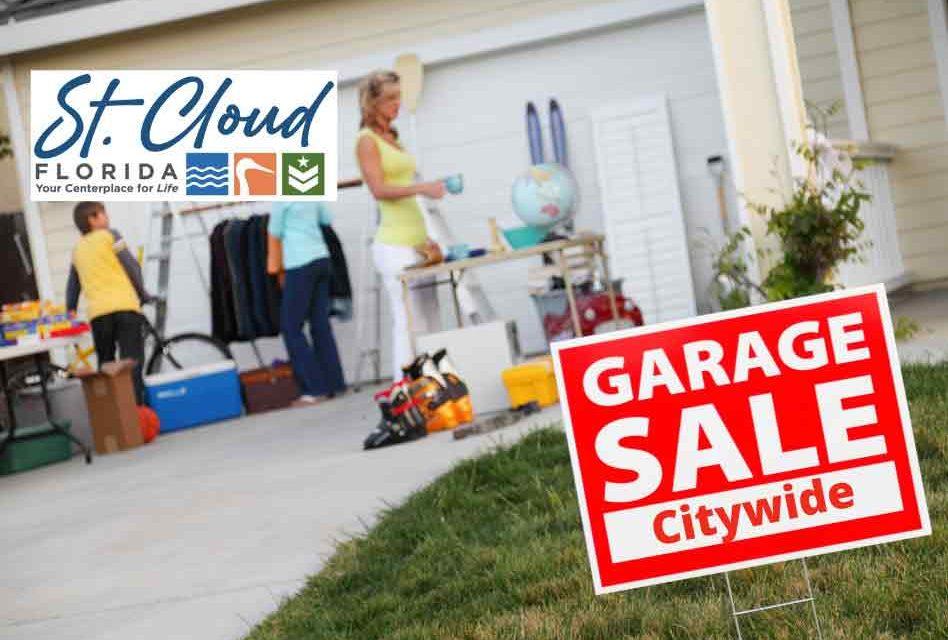 City of St. Cloud announces citywide garage sale dates for 2021