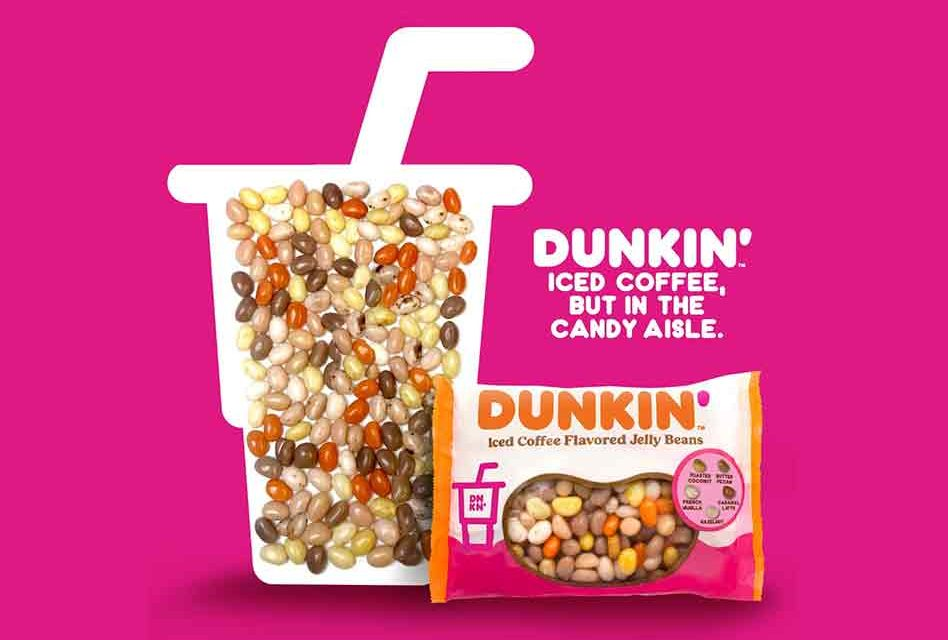 Attention jelly bean and coffee fans, Dunkin' has released iced coffee-flavored jelly beans for Easter