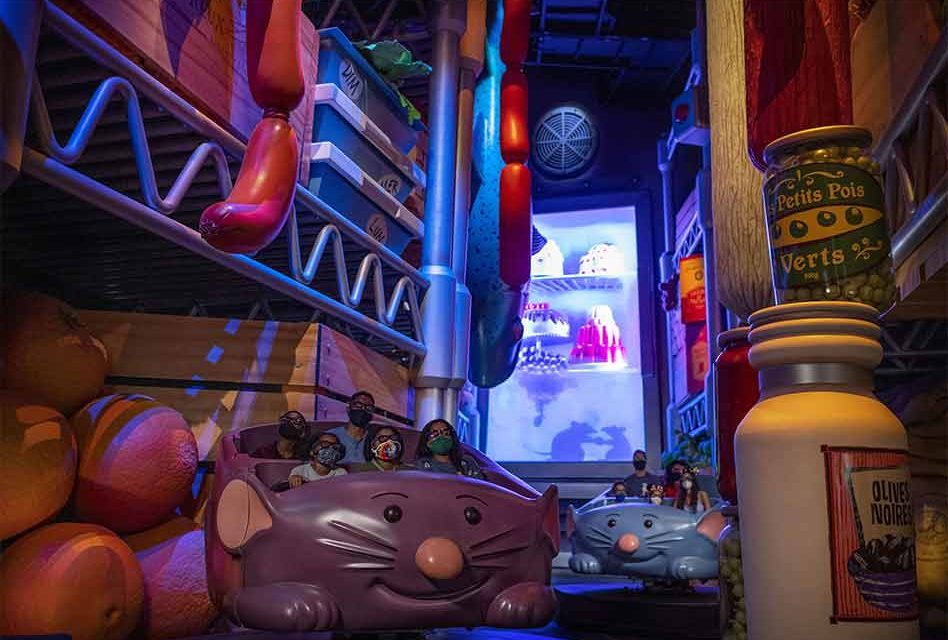 Grand Opening of Remy's Ratatouille Adventure at EPCOT Set for Oct. 1, 2021