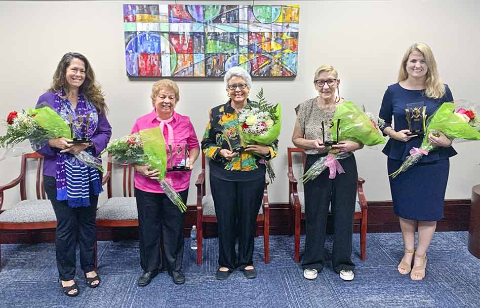 """Osceola County Commissioners Honor Five as """"Woman Warrior"""""""