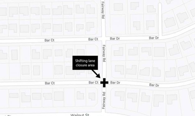Lane closures at Fairway Rd. and Bar Ct./Dr. intersection in Poinciana starting April 26 for sewer project