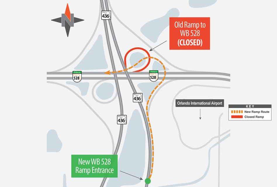 SR 528/SR 436 Flyover ramp opens Monday morning in Orlando