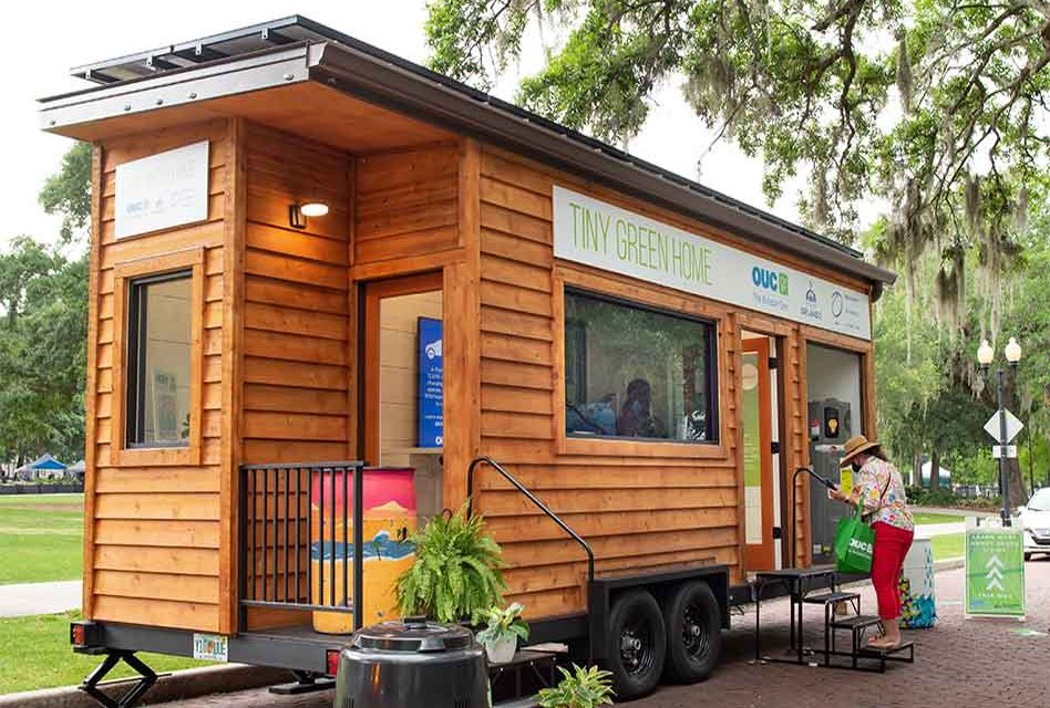 """OUC celebrates Earth Day, features """"Tiny Green Home"""""""