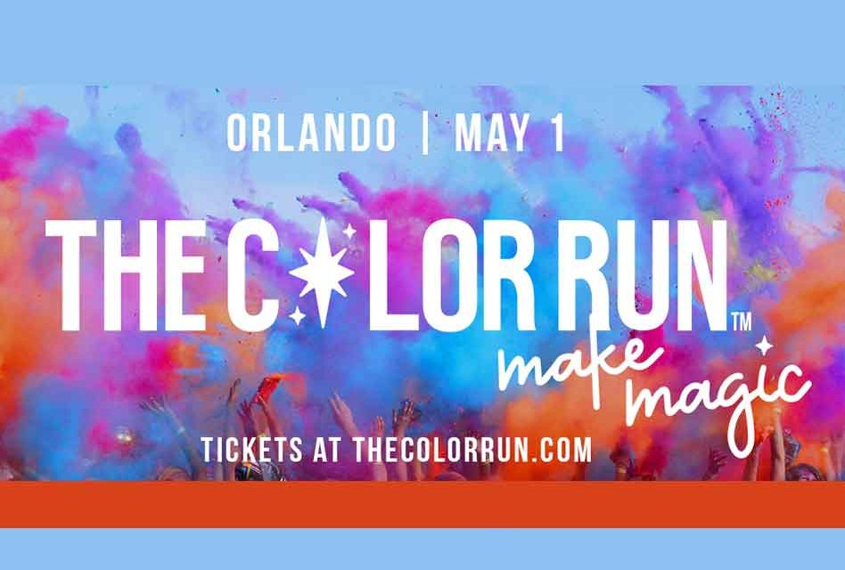 Color Run 5K to Make Magic in Kissimmee May 1st