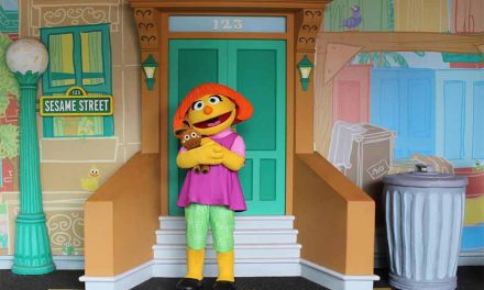 SeaWorld Orlando introduces Julia at Sesame Street Land during Autism Acceptance Month