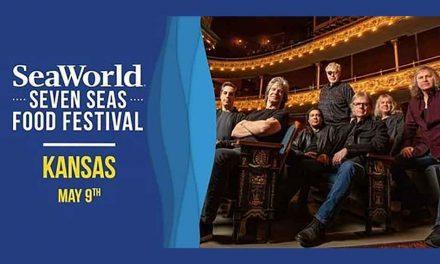 SeaWorld Orlando to feature music icon Kansas at Seven Seas Food Festival May 9