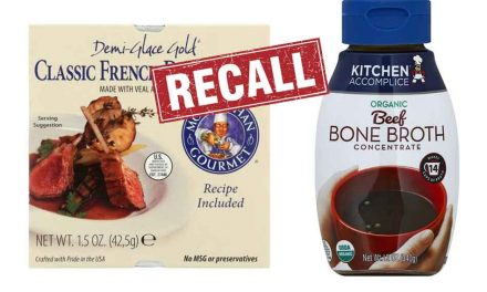 Company recalls over 6000 lbs. of beef and veal broth, due to possible hydraulic oil contamination