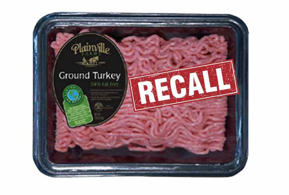Health alert issued for ground turkey due to possible Salmonella, Check your freezer