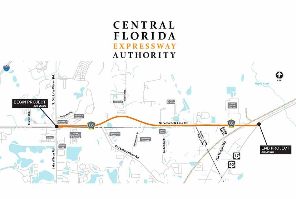 CFX to hold public workshop for Osceola Polk Line Road Tuesday May 25