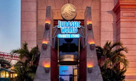 """Universal Orlando Resort guests can get their """"claws"""" on Jurassic World and VelociCoaster inspired merchandize beginning May 27"""