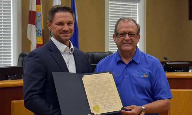 City of St. Cloud says thank you to Prescriptions Unlimited's Eric Lawson amid pandemic, issues proclamation