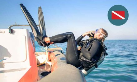 Divers down! Help protect yourself and others, use a dive flag/buoy when swimming, diving or snorkeling