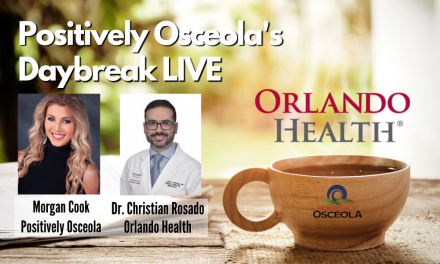 Today's Daybreak LIVE show at 9am to feature Orlando Health's Dr. Christian Rosado, discussing COVID-19 long haulers