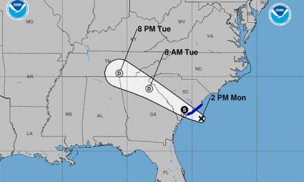 Tropical Storm Danny forms, takes aim at South Carolina
