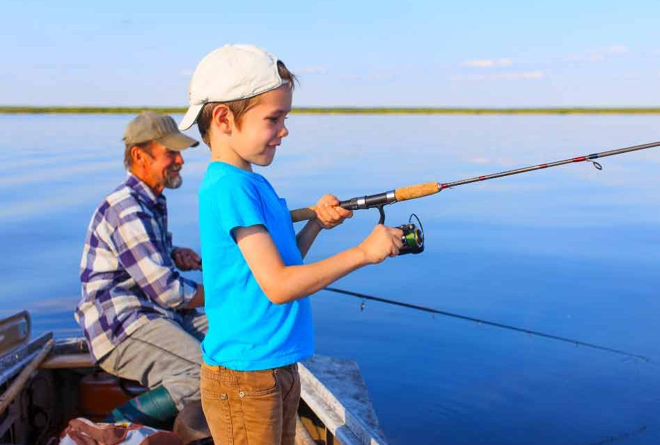 Grab your rod and reel, some bait, it's National Go Fishing Day!