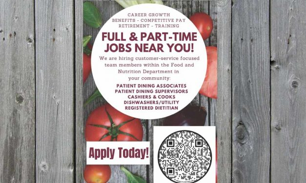 Food and Nutrition Department at Orlando Health St. Cloud Hospital Now Hiring