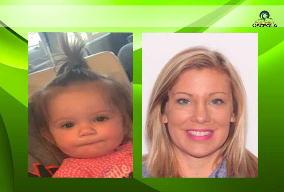 Missing Child Alert issued for 1-year-old DeBary, Florida girl