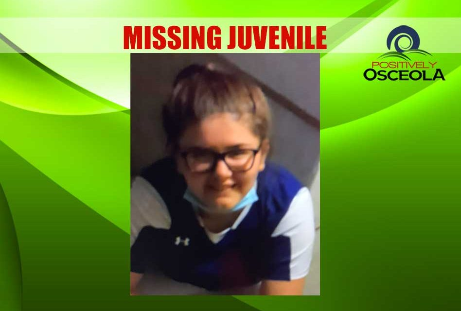 Osceola Sheriff's Office searching for missing 13-year-old girl